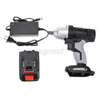 320NM 1/2'' Electric Cordless Impact Wrench Drill 12800mAh Battery Charger