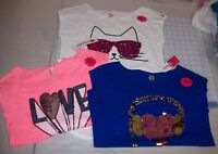 GIRLS TOTAL GIRL GRAPHIC TOPS MULTIPLE GRAPHICS AND SIZES NEW WITH TAGS