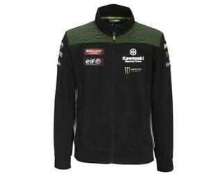 Kawasaki Sweatshirt Jacke Zipper WSBK 2020 NEU von BikerWorld