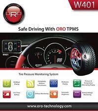 ORO W401B TPMS Universal Wireless Tire Pressure Monitoring System (w/4 sensors)