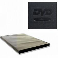 100 x 9mm 2 FACH BOX DVD SLIM HÜLLEN BLURAY FILM MUSIK VIDEO DOUBLE CD LEERHÜLLE