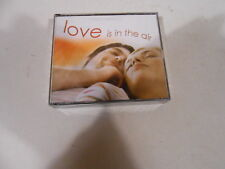 LOVE IS IN THE AIR-4 CD SET-READERS DIGEST-AUSTRALIA-PETER ALLEN-TED MULRY-2006