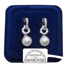 Perla Perle Orecchini da donna pl. oro bianco 18K cristalli swarovski SWPP69