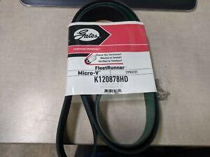 Serpentine Belt-FleetRunner Heavy Duty Micro-V Belt fits 06-07 Kenworth W900