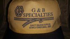 G&B Specialties Berwick Pennsylvania Baseball Hat