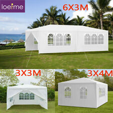 More details for 3x3/4/6m waterproof gazebo marquee canopy party tent outdoor garden heavy duty