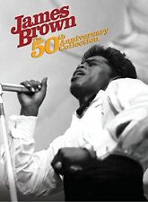 James Brown - 50th Anniversary Collection - 2 x CD's & 1 x DVD NEW