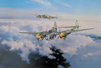 Lightning Strike by Robert Taylor signed by WWII P-38 Fighter Aces