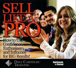 Sell Like A Pro - Nightingale Conant  - Audiobook - 7CDs Includes Workbook CD