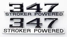347 Stroker Power Badge Emblems Mustang 289 302 Windsor 1969 1970 69 70 Mach 1