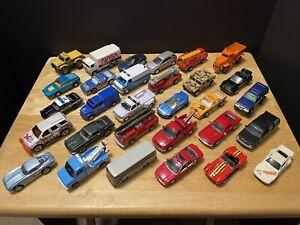 Mixed Lot Of 30 Hot Wheels Racing Champions Matchbox & Other Loose Cars & Trucks