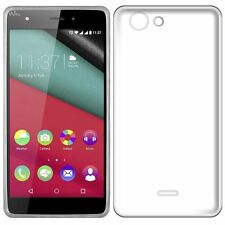 Pour Wiko Pulp / Pulp 4G Coque ultra fin en gel silicone TRANSPARENT invisible