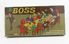 THE BOSS BIG BUSINESS FIRE HIM 1972 WHEEL DEAL IDEAL BOARD GAME COMPLETE