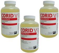 (3 Pack) Merial 66798 Corid Liquid 9.6 Percent for Calves 16-Ounce