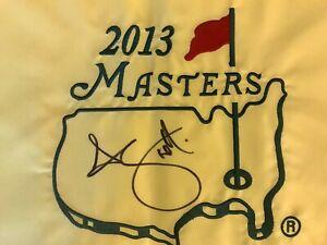 ADAM SCOTT Signed Autographed 2013 MASTERS GOLF FLAG