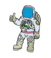 Patch toppe toppa ricamate termoadesiva astronauta spatialship