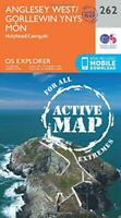 OS Explorer Map Active (262) Anglesey West (OS Explorer Active Map) by Ordnance