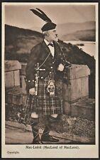 MacLeod of MacLeod Scottish chieftain postcard
