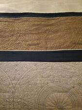 SALE Halmart Collectibles Blue Brown Ivory KING Comforter Only