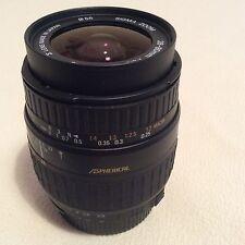 Sigma AF 28-80mm D Aspherical Objektiv Nikon Fit