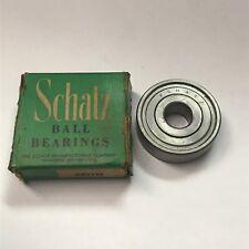 AnnularBall Bearing Schatz Bearing Corp 12292904-1 9108FF P//N