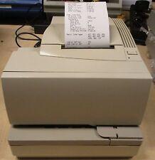 Axiohm NCR A758 Impact thermique bon de réception des billets Serial RS232 + PSU