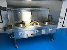 More details for chinese cooker 3 wok commercial burner