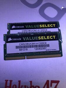 CORSAIR ValueSelect 16GB 204-Pin DDR3 SO-DIMM DDR3 1333