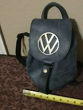Little Earth Recycled Rubber Heavy duty Volkswagen large emblem ladies backpack