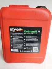 Divinol Kettenöl H Haftzusatz 5 Liter Sägekettenöl Haftöl Motorsäge Öl 5L Kette