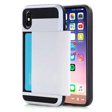Shockproof Wallet Credit Card Holder Case Cover for Apple iPhone XS Max XR XS X