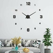 Orologio da Parete Adesivo 3D Wall Clock Moderno per Soggiorno Camera Salone