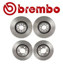 For Audi TT Quattro 2000-2006 Front & Rear Brake KIT Disc Rotors Original Brembo