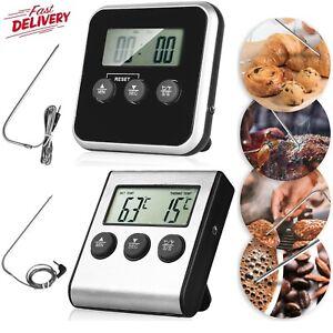 Digital Bratenthermometer Grillthermometer Ofen Backofen Fleischthermometer DHL