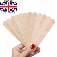 100 x Spatulas Professional Disposable Wooden Waxing Wax Sticks +10 Free!!
