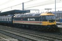 BRITISH RAIL 47549 Doncaster 1987 Rail Photo