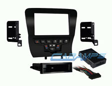 DODGE CHARGER SINGLE OR DOUBLE 2 DIN CAR STEREO DASH KIT WITH WIRING INTERFACE
