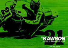 [BOOK] KAWSON Lawson on Kawasaki '80-'82 Eddie Lawson KR250 KR500 KZ1000 Japan