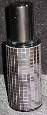 OSKAR KARLA PERFUME BOUDOIR ATOMIZER REFILLABLE BLACK MIRRORED AUSTRIAN GLASS #4