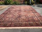 Multicolor Panel Kirman rug by Karastan 717 Large carpet 11.5x18 Excellent