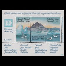 Greenland 1995 - Hafnia `87 Nature Landscape Birds Mountains - Sc 175 MNH