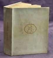 Uhland Gedichte um 1920 selten Belletristik Klassiker Literatur Pergament sf