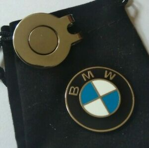 BMW magnetic golf ball marker - Free hat clip & Pouch