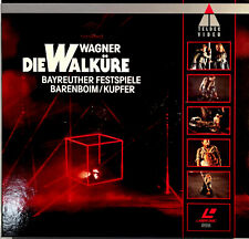 Wagner: Die Walküre Bayreuther Festspiele: Barenboim (1992) PAL/LBX 4509-91123-6