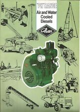 Brochure-PETTER Air & Water Cooled Diesel Engines,PH Range,Middlesex,England UK