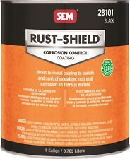 SEM Black Rust-Shield - 1 Gallon (Excellent Corrosion Protection) 28101