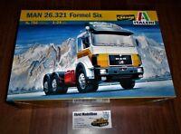 LKW Truck MAN 26.321 Formel Six 6X4  in 1:24 von Italeri 756 Neu Länge: 34  cm