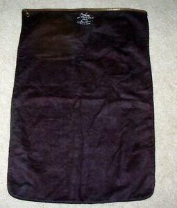 "Vintage Naken Holloware Pacific Silver Cloth Zippered Bag Anti Tarnish 25"" X 17"""