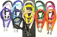 Police Style Dog Training Lead Double Ended Obedience Leash Multi-Functional