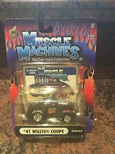 1:64 1941 Willys Coupe MUSCLE MACHINES Injected
